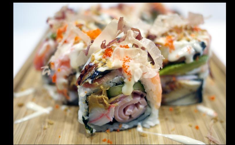 sushi boston roll